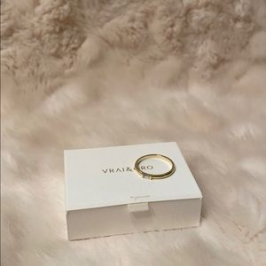 Vrai & Oro Baguette Diamond Ring